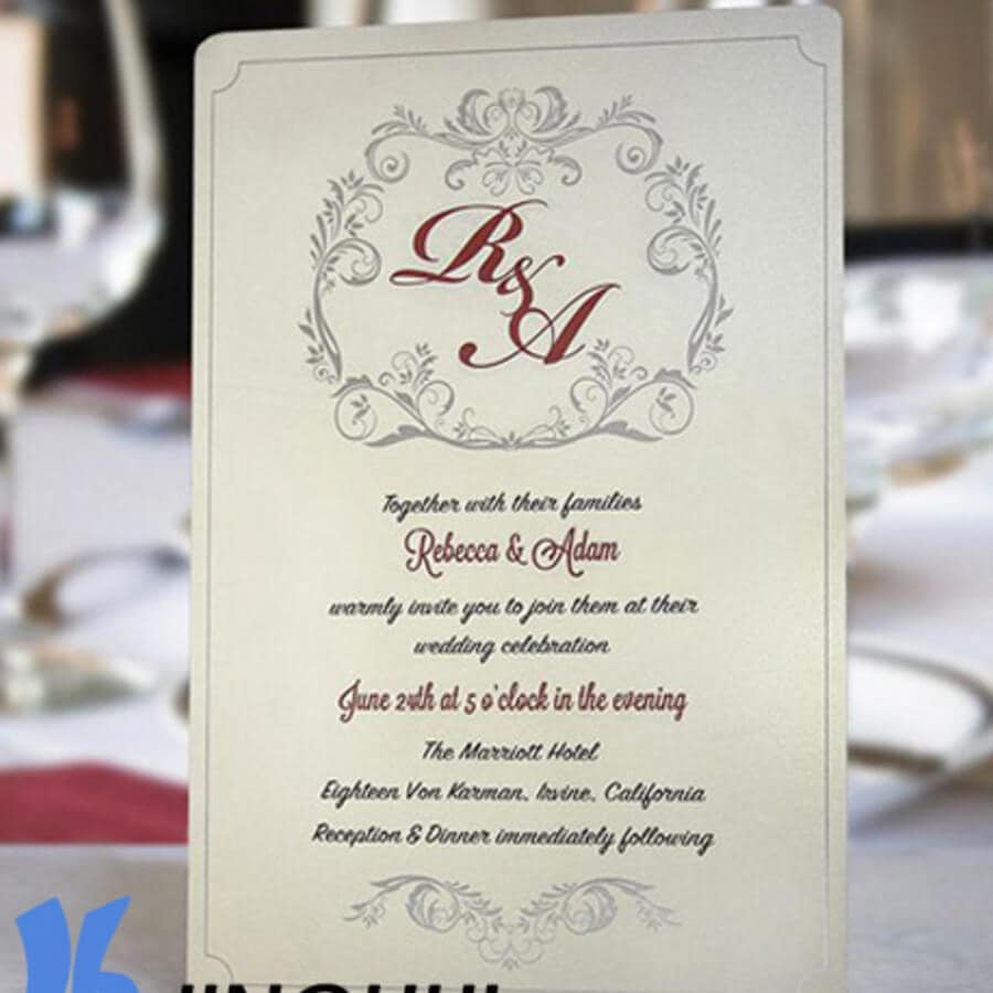 Metal Invitations