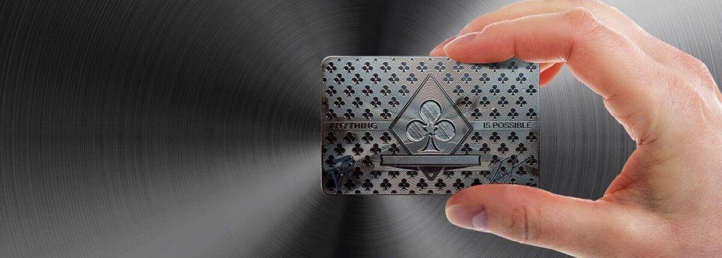 Custom Black Metal Card