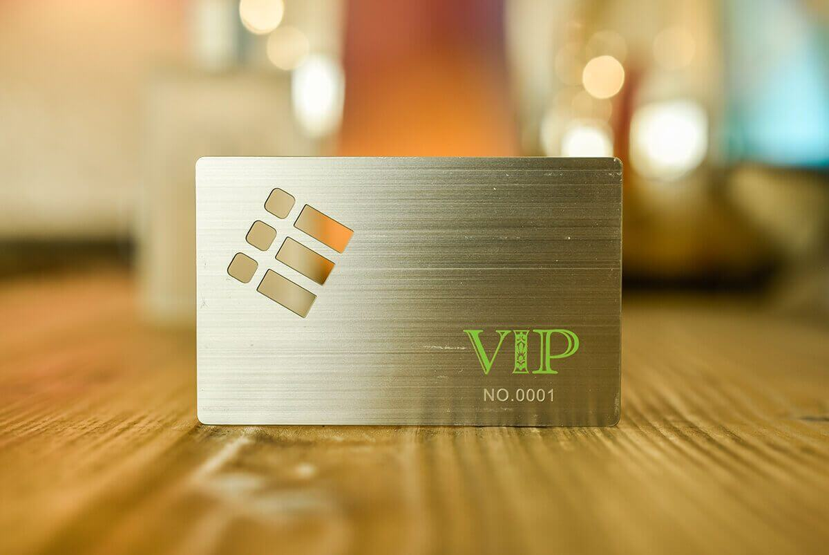 Metal VIP Passes - Metal Business Cards