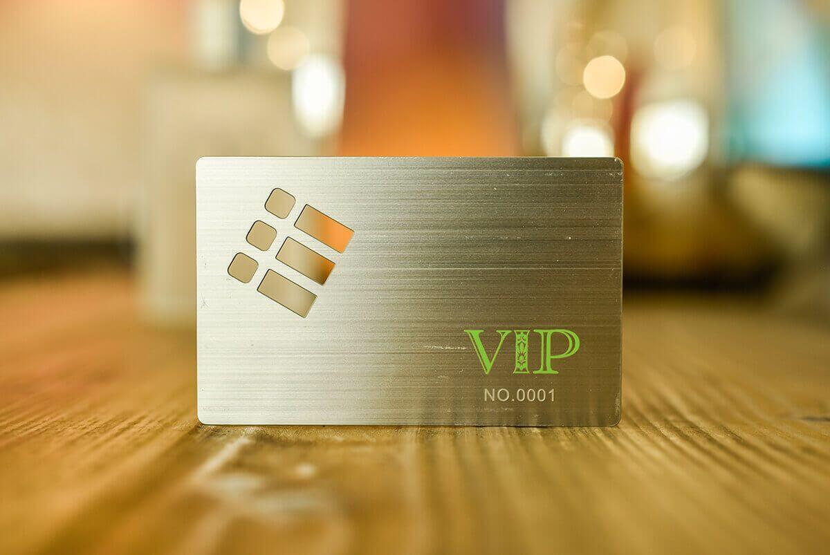 Metal VIP Cards