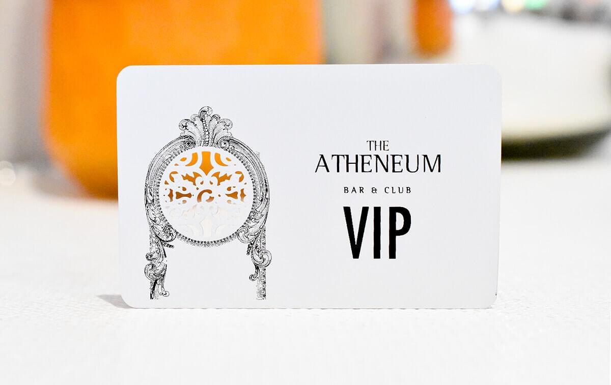 White Metal Card