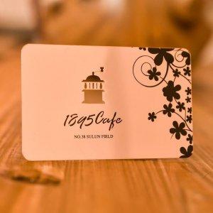 Rose Gold Metal Cards