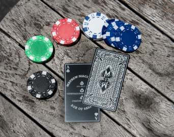 Ace of Sale Metal Card