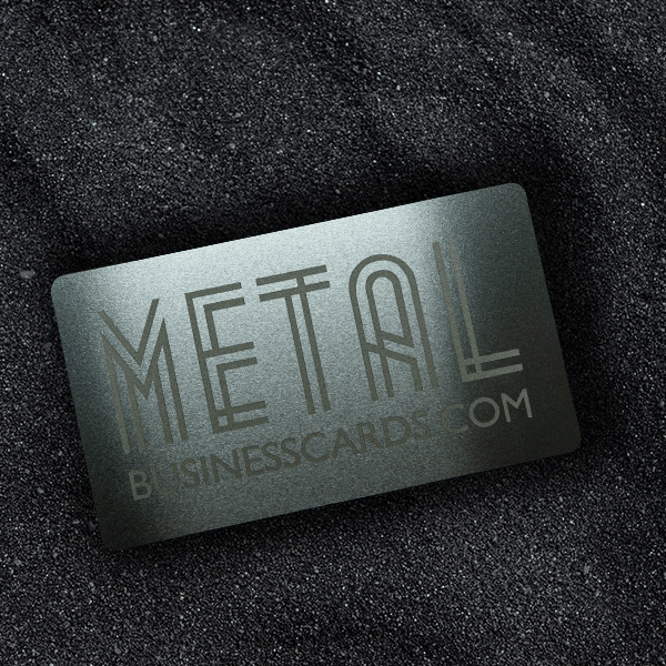 Quick Metal Card Silver Solid