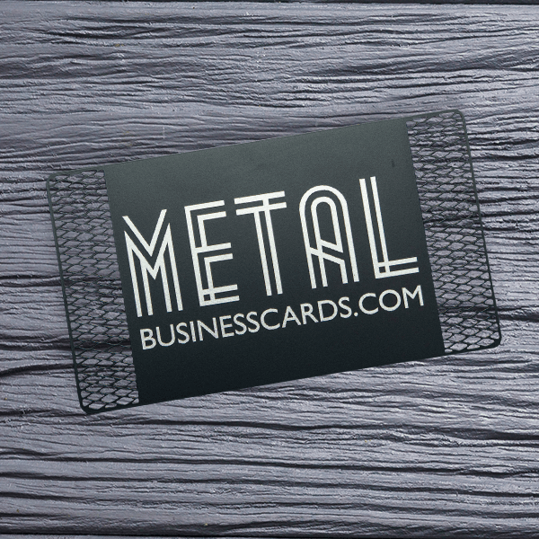 Quick Metal Card Black Cutout