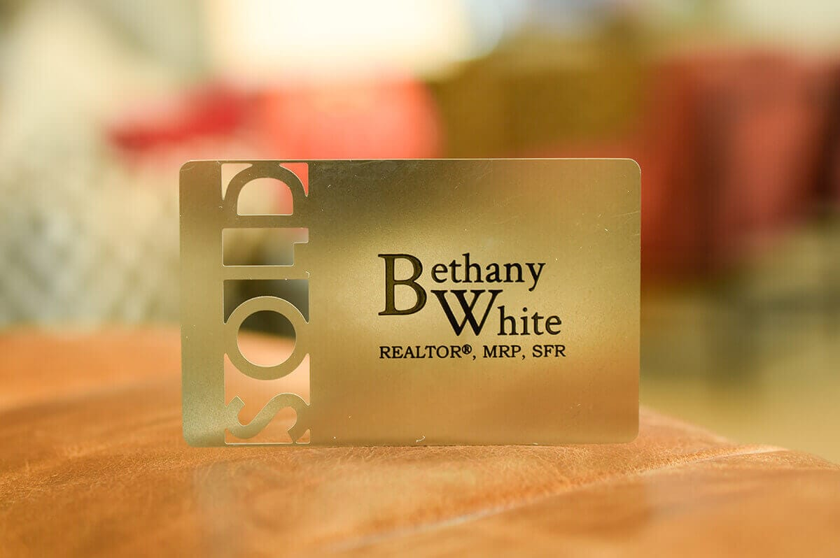 Gold Metal Business Cards