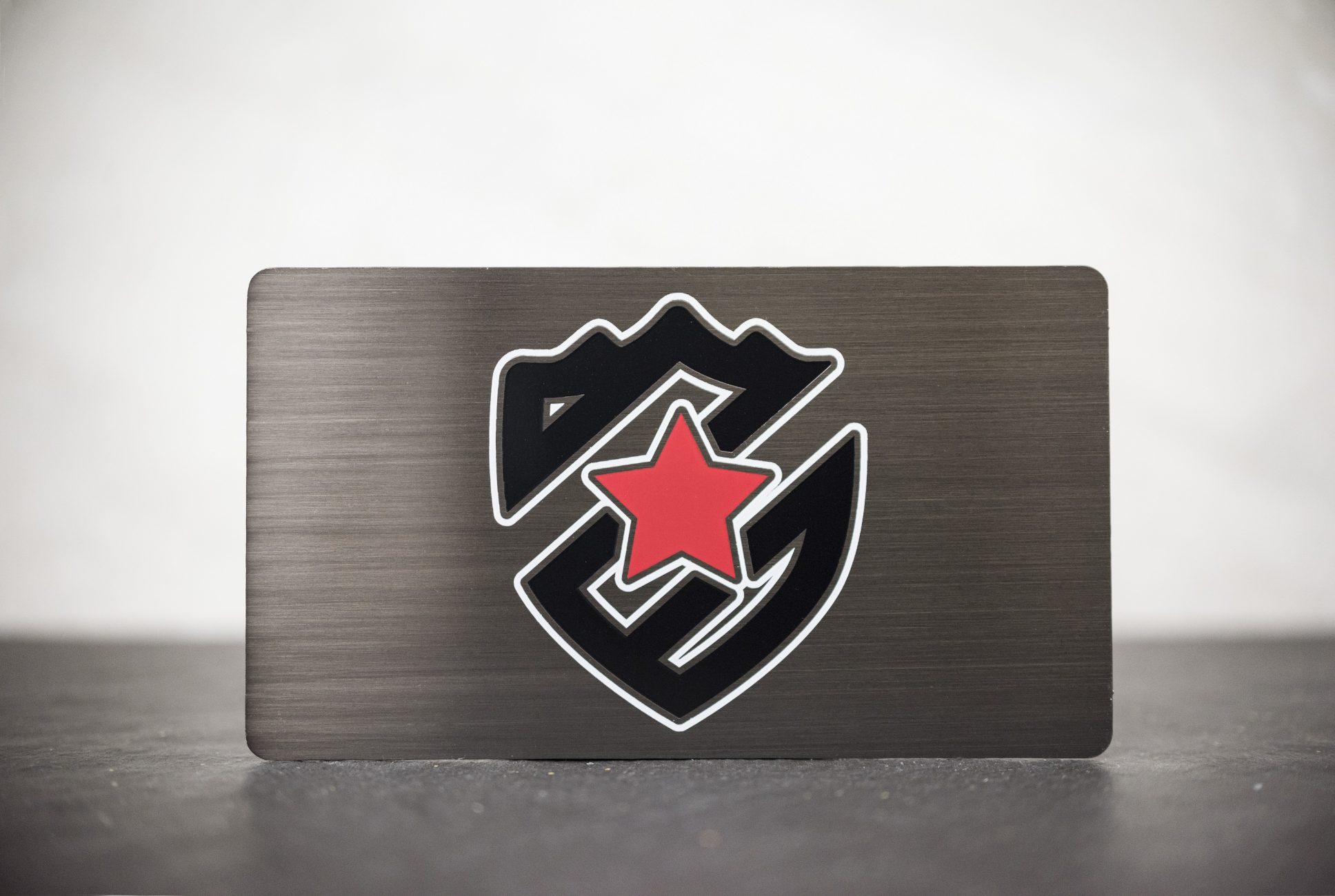 Gunmetal Business Cards