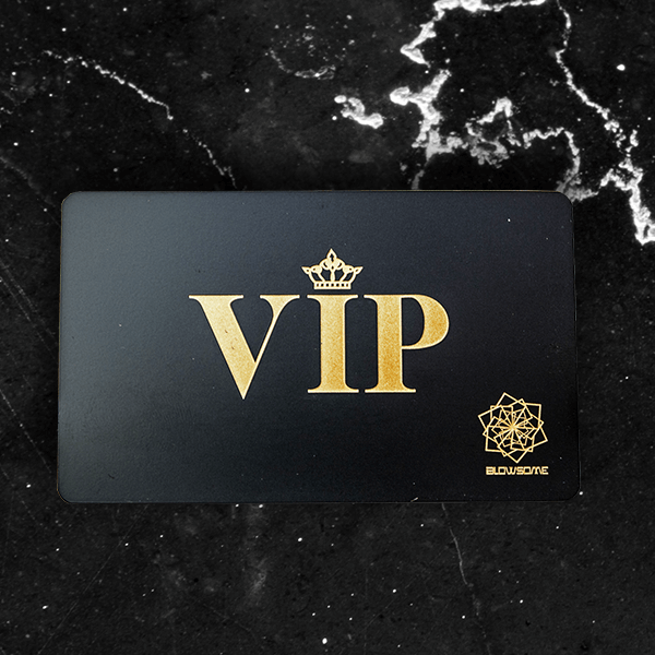 Black Metal VIP Card