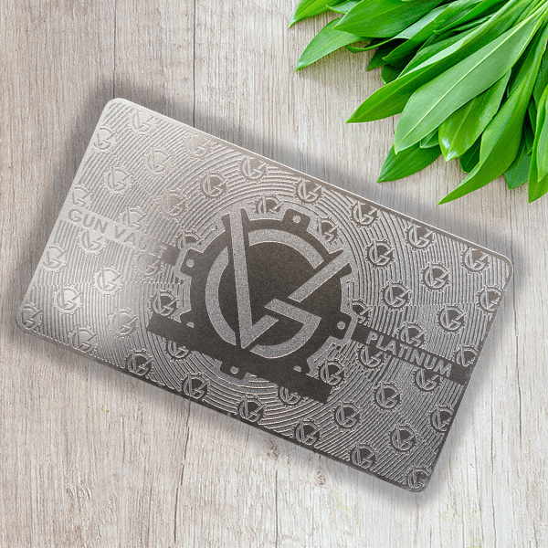 Stainless Steel VIP Card - Gunvault