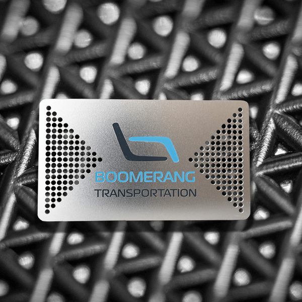 Stainless Steel Business Card - Bommerang