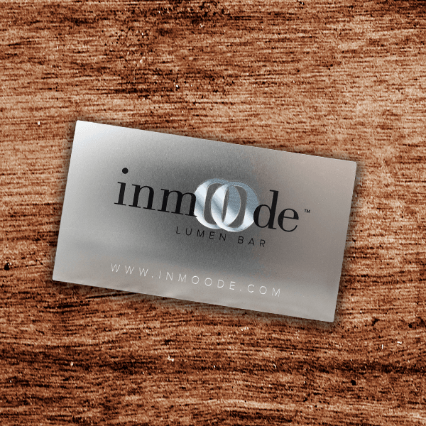 Stainless Steel Business Card - Inmoode