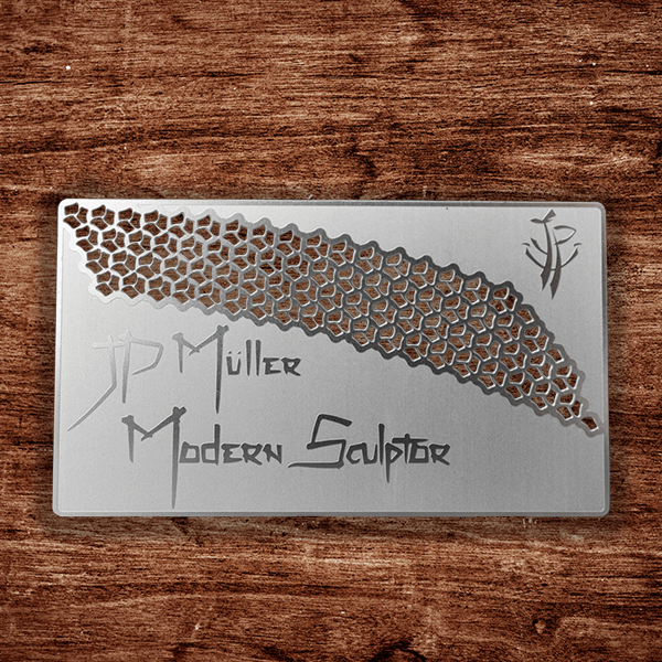 Stainless Steel Business Card - JP Muller